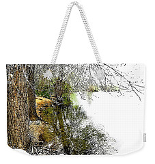 Reflective Trees Weekender Tote Bag