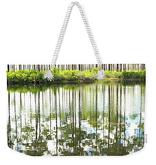 Reflex Lake Weekender Tote Bag