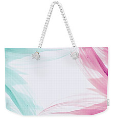 Weekender Tote Bag featuring the photograph Refreshing by Andrea Anderegg