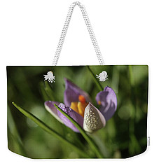 Weekender Tote Bag featuring the photograph Refreshments  by Connie Handscomb