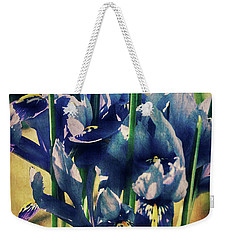 Weekender Tote Bag featuring the photograph Regal Splendour  by Connie Handscomb