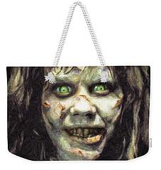 Regan Macneil Weekender Tote Bag by Taylan Apukovska