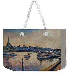 Weekender Tote Bag featuring the photograph Regatta Maastricht by Nop Briex