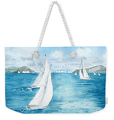 Regatta Time Weekender Tote Bag