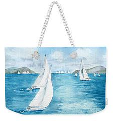 Regatta Time Weekender Tote Bag