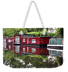 Regent Houseboats Weekender Tote Bag by Keith Armstrong