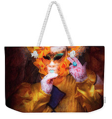 Weekender Tote Bag featuring the photograph Regina Di Giale by Jack Torcello