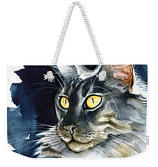 Regina - Maine Coon Painting Weekender Tote Bag