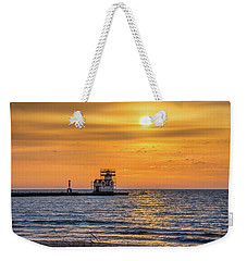 Weekender Tote Bag featuring the photograph Rehabilitation Rising by Bill Pevlor
