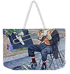 Rehearsal In Prague Weekender Tote Bag