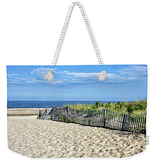 Weekender Tote Bag featuring the photograph Rehoboth Delaware by Brendan Reals