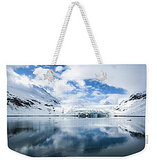 Reid Glacier Glacier Bay National Park Weekender Tote Bag