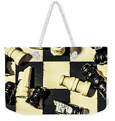 Weekender Tote Bag featuring the photograph Reigning Champ by Jorgo Photography - Wall Art Gallery