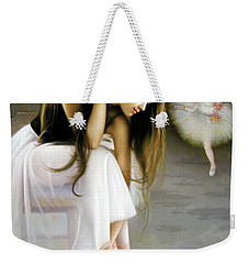Reincarnated Of A Star Weekender Tote Bag