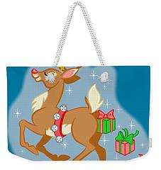 Reindeer Gifts Weekender Tote Bag