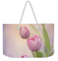 Weekender Tote Bag featuring the photograph Rejoice He Is Risen by Ann Bridges