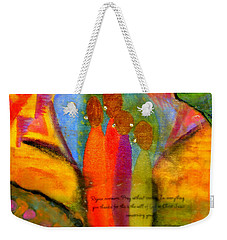 Rejoice Some More Weekender Tote Bag