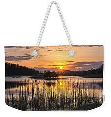 Rejoicing Easter Morning Skies Weekender Tote Bag by Angelo Marcialis