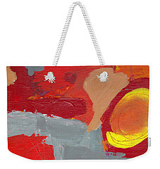 Weekender Tote Bag featuring the painting Relax And Enhoy by Patricia Cleasby
