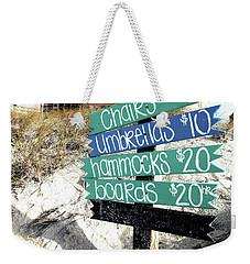 Relax For Twenty Weekender Tote Bag