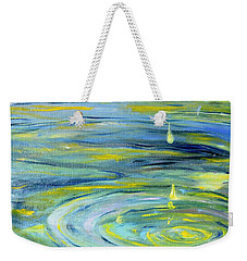 Relaxation Weekender Tote Bag by Evelina Popilian