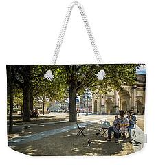 Relaxing Afternoon In Paris Weekender Tote Bag