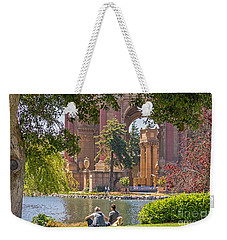 Relaxing At The Palace Weekender Tote Bag
