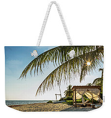 Relaxing Cabana On Beach In Mexico Weekender Tote Bag