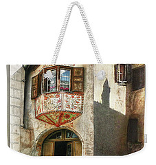 Weekender Tote Bag featuring the photograph Relaxing Evening Sun  by Hanny Heim
