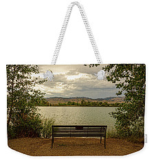 Weekender Tote Bag featuring the photograph Relaxing View by James BO Insogna
