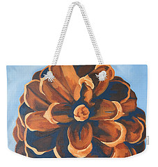 Weekender Tote Bag featuring the painting Released by Erin Fickert-Rowland