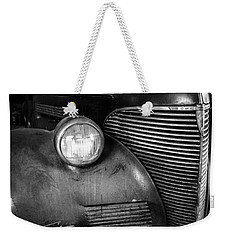 Old Car - Blue Ridge Mountains Weekender Tote Bag