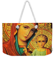 Religion In Red Weekender Tote Bag