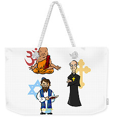 Religious Icons Weekender Tote Bag by Whitney Morton