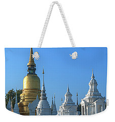 Wat Suan Dok Reliquaries Of Northern Thai Royalty Dthcm0947  Weekender Tote Bag