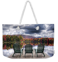 Relishing Autumn Weekender Tote Bag by David Patterson
