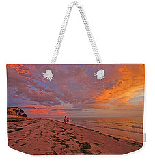Weekender Tote Bag featuring the photograph Remains Of The Day by HH Photography of Florida