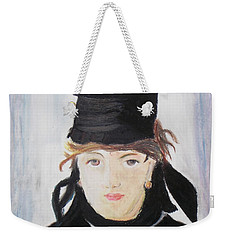 Remake Portrait Of Berthe Morisot Weekender Tote Bag