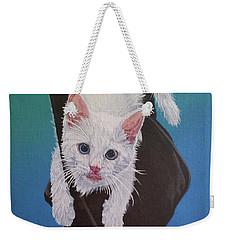 Rembrandt Justa Swingin Weekender Tote Bag by Wendy Shoults