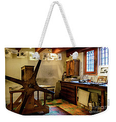 Weekender Tote Bag featuring the photograph Rembrandt's Former Graphic Workshop In Amsterdam by RicardMN Photography