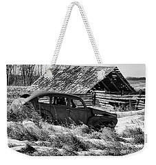 Remember The Past Work For The Future Weekender Tote Bag by Bob Christopher