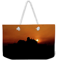 Weekender Tote Bag featuring the photograph Remember The Sun by Robert Geary