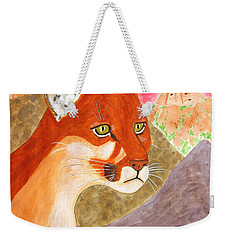 Remembering Big Bend Weekender Tote Bag