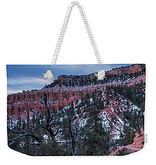 Weekender Tote Bag featuring the photograph Remembering Bryce by Edgars Erglis