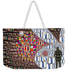 remembering Mr. Hefner Weekender Tote Bag