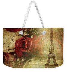 Remembering Paris Weekender Tote Bag