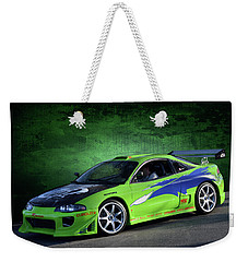 Remembering Paul Walker Weekender Tote Bag