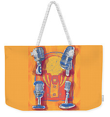 Remembering Radio Weekender Tote Bag