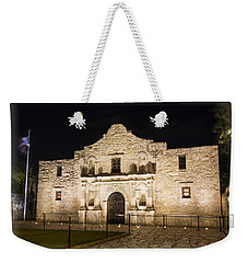Remembering The Alamo Weekender Tote Bag by Stephen Stookey