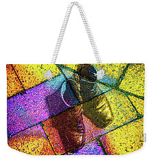 Weekender Tote Bag featuring the photograph Remembering Yellow Brick Road by Ronda Broatch
